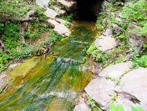 La rivière perdue Images libres de droits