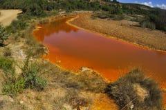 La rivière rouge Images libres de droits