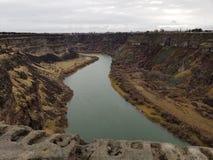 La rivière Snake photographie stock