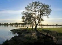 La rivière Snake, Burley Idaho images libres de droits