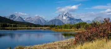 La rivière Snake en automne Image stock