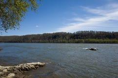 La rivière Susquehanna Images libres de droits