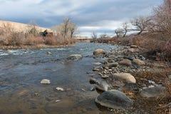 La rivière Truckee Images libres de droits