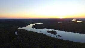 La rivière Wisconsin Images stock