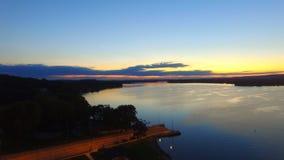 La rivière Wisconsin Image libre de droits