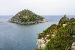 La Riviera Ligure Image libre de droits