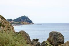 La Riviera Ligure Photographie stock