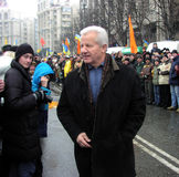 La rivoluzione arancio nel _74 di Kyiv nel 2004 Fotografia Stock