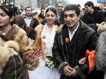 La rivoluzione arancio nel _79 di Kyiv nel 2004 Immagini Stock Libere da Diritti