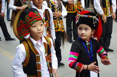 La robe-Chine traditionnelle images stock