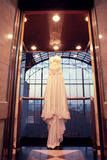 La robe de la mariée Image libre de droits