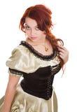 la robe a façonné dame âgée image stock