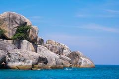 La roca Foto de archivo libre de regalías