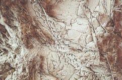 La roca congelada Foto de archivo libre de regalías