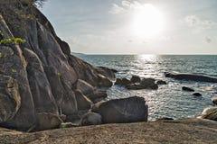 La roca de abuelo, un pene Imagen de archivo libre de regalías