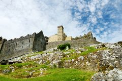 La roca de Cashel, un sitio histórico situado en Cashel, condado Tipperary, Irlanda Imagenes de archivo