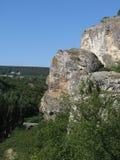 La roca de Crimea Imágenes de archivo libres de regalías