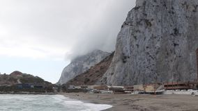 La roca de Gibraltar almacen de video