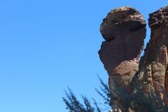 La roca de la cara del mono en Smith Rock State Park Fotografía de archivo libre de regalías