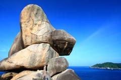 La roca de la navegación imagen de archivo libre de regalías