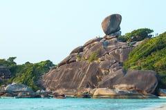 La roca de la navegación Imagen de archivo