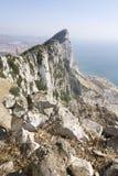 La roca del nr España meridional de Gibraltar Imagen de archivo libre de regalías
