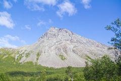 La roca en la distancia Fotos de archivo