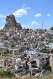 La roca en la región de Cappadocia fotos de archivo libres de regalías