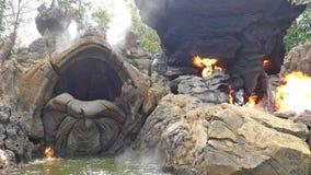 La roca formada como una tortuga fotografía de archivo