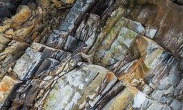 La roca Roca de la cal Foto de archivo libre de regalías