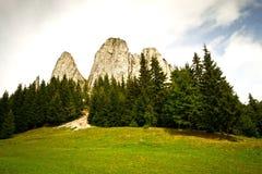 La roca sola Foto de archivo libre de regalías