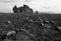 La roca tiene gusto titánico Foto de archivo