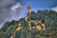 La Rocca Fortress in Radicofani stock images