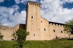 La Rocca of Spoleto, Italy stock photo