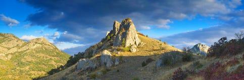 La roccia Immagine Stock