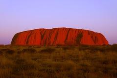La roccia. Fotografia Stock