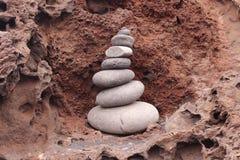 La roccia Fotografia Stock Libera da Diritti