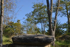 La roccia Adam-ondi-Ahman la contea di Daviess Missouri del predicatore Fotografie Stock Libere da Diritti