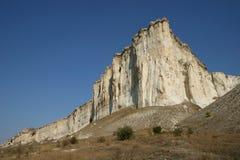 La roccia bianca Immagini Stock