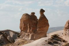 La roccia del cammello fotografie stock libere da diritti