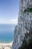 La roccia della Gibilterra Fotografie Stock