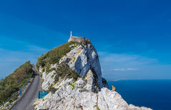 La roccia della Gibilterra Fotografia Stock