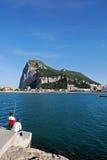 La roccia della Gibilterra Fotografia Stock Libera da Diritti