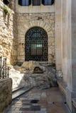 La roccia di agonia a Gerusalemme, Israele immagine stock