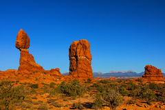 La roccia equilibrata incurva la sosta nazionale Fotografia Stock Libera da Diritti