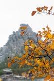 La roccia maestosa Immagini Stock