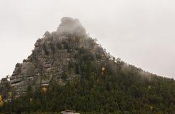 La roccia maestosa Immagini Stock Libere da Diritti