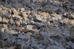 La roccia oscilla la scalata di pietra di struttura Immagine Stock