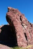 La roccia rossa Fotografia Stock