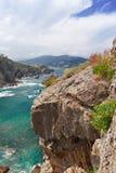 La roccia sulla spiaggia Immagini Stock Libere da Diritti